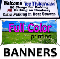 """Full Color Printing Banners"""